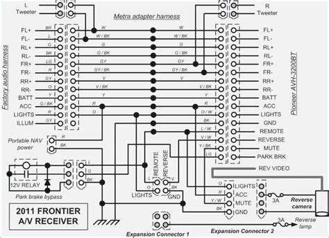 2013 nissan frontier stereo wiring diagram wiring diagram
