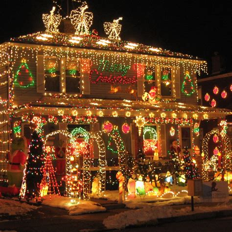 50s style americana decor home christmas decoration 50 spectacular home christmas lights displays style estate