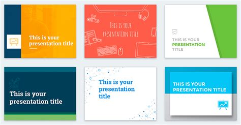 Free Presentation Templates For Google Slides | free powerpoint templates and google slides themes for