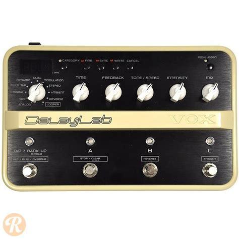 vox delay lab gitar vox delaylab guitar pedal reverb
