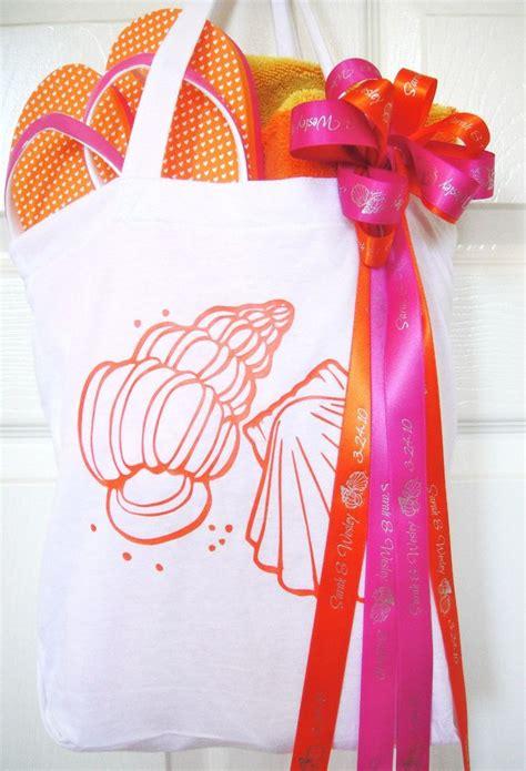 beach themed wedding welcome bags beach bag beach bag ideas