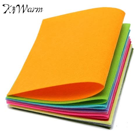 Aliexpress Buy Easy Clean Woven by Aliexpress Buy 10 Colors Set Non Woven Felt Fabric