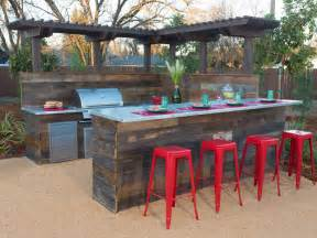 backyard grill bar yard crashers diy