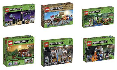 New Set minecraft 2014 lego sets