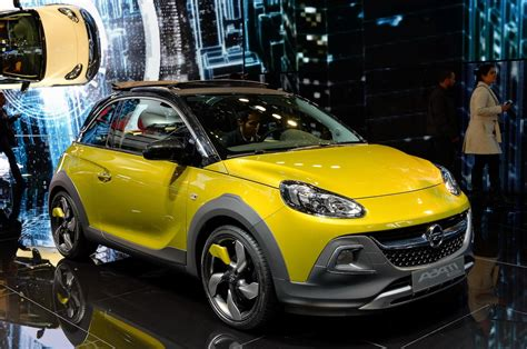 opel adam rocks production bound opel adam rocks to bow in geneva motor