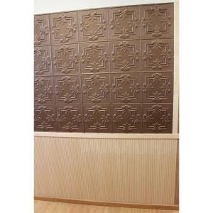 Faux Tin Backsplash Tiles Home Depot by Global Specialty Products Dimensions Faux 2 Ft X 4 Ft