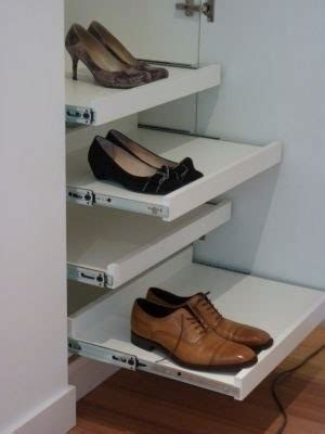 sliding shoe storage transforming the stairs cupboard will it work