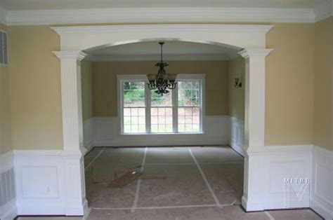 dining room trim ideas doorway molding and crown molding with what i believe is