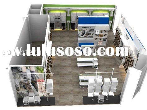 retail store design software sports shop design for sale price china manufacturer