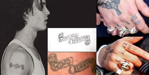 johnny depp wino tattoo celebrity tattoos and relationships that failed bookmyshow