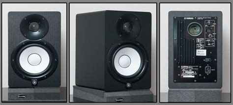 Yamaha Studio Monitor Speaker Hs 8i Hs8i Hs 8i review yamaha hs7 studio monitors ask audio
