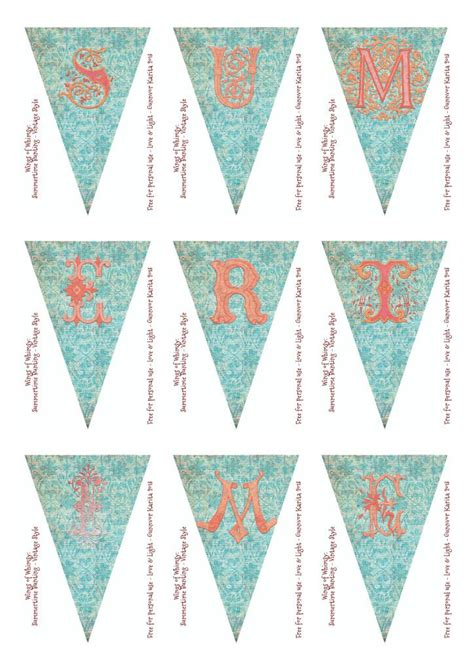 printable bunting flag printable banner bunting banners bunting pinterest