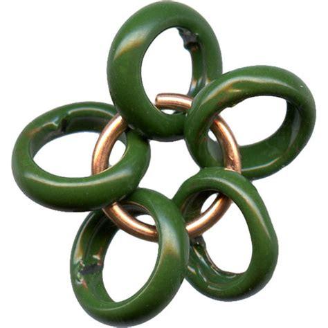 c koop c koop glass enameled copper bead shortiel