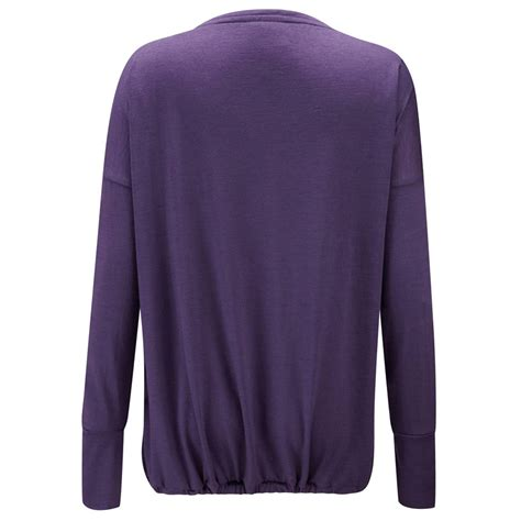from clothing merino wool v neck top from clothing