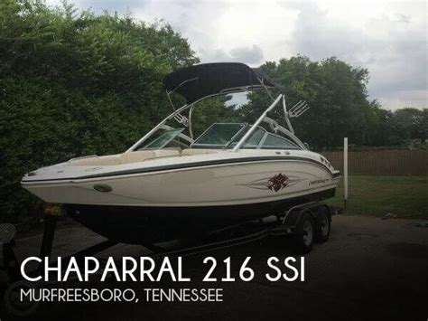 used chaparral boats for sale in tennessee for sale used 2011 chaparral 216 ssi in murfreesboro