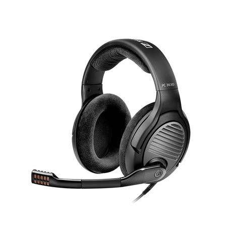 Headset Sennheiser Original fone de ouvido headset sennheiser pc 363d original r 1