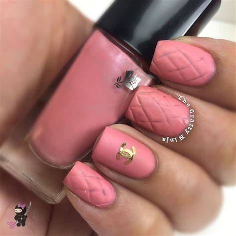 nail art matte tutorial pink chanel inspired nails the crafty ninja
