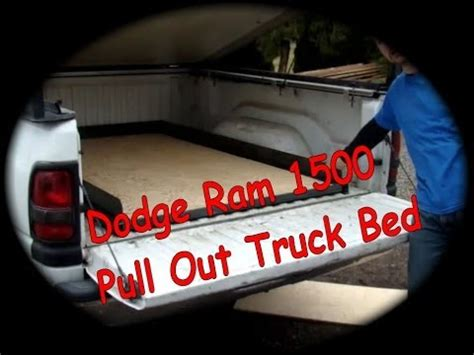 truck bed roll out diy truck bed slide out bing images