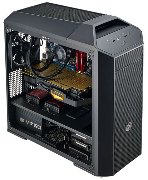 cooler master case fan cooler master unveils the mastercase 3 pro micro atx case