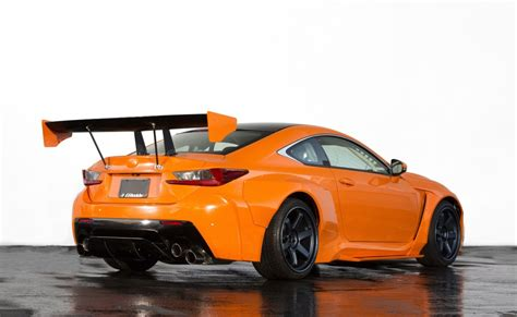 custom lexus rc f lexus unveils custom rc f gs f concepts at sema show