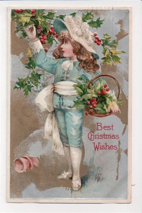 vintage postcards  page  shoots roots  leaves