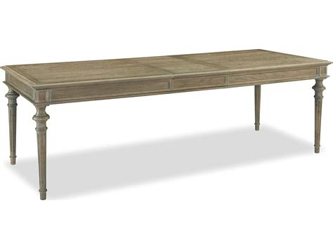 Universal Furniture Dining Table Universal Furniture Berkeley 3 96 L X 39 W Rectangular Studio Tribecca Dining Table Uf316752