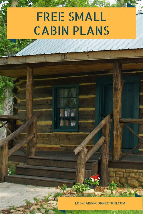 log cabin plan free small cabin plans