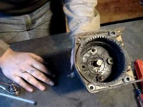 warn winch repair rebuilding warn 9 5xp winch doovi