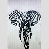 Black elephant ...