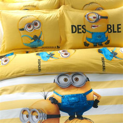 Set Minion minion bed sheets set ebeddingsets