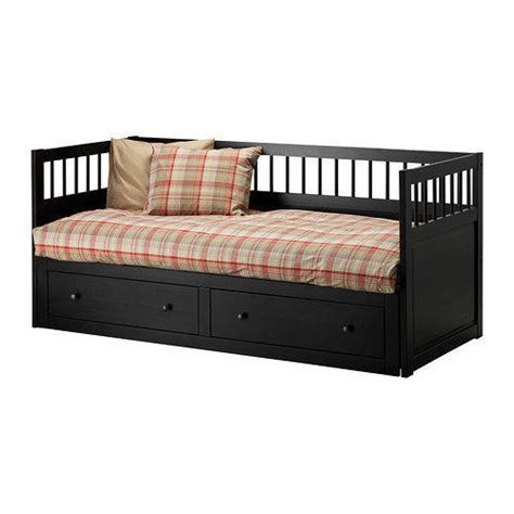 hemnes twin bed hemnes daybed frame black brown twin from ikea my girls