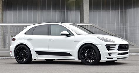 porsche macan 2016 white hamann porsche macan looks great in white