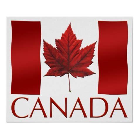 printable flag poster canada flag poster canada flag souvenir art print zazzle