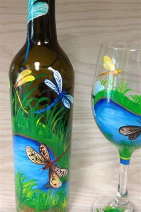 698 best ideas about hand painted wine glasses on