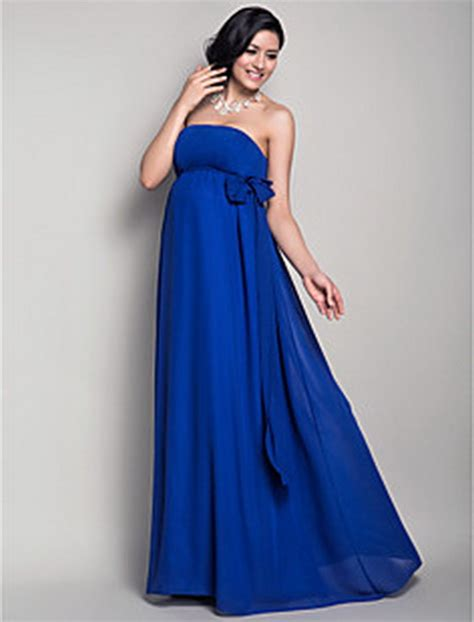 Dress Stelan Live royal blue maternity dress
