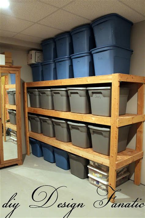 diy garage shelves diy design fanatic diy storage how to store your stuff