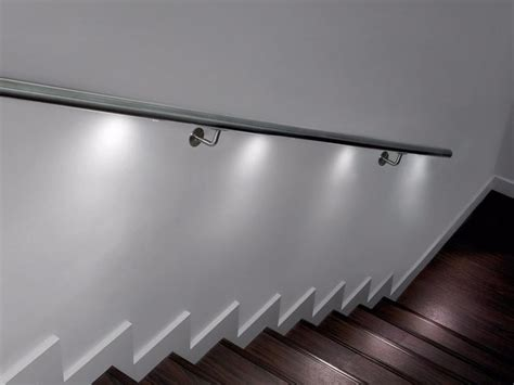interne beleuchtung corrimano con led q lights spotlight q railing italia