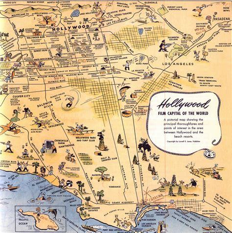 map los angeles maps update 21051488 la tourist map los angeles
