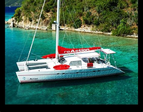 sailing catamaran under 30 feet reaction crewed yacht charter details lagoon 55ft
