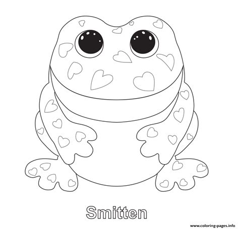 print smitten beanie boo coloring pages embroidery