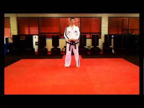 youtube taekwondo pattern 4 4 directional punch saju jirugi 1 of 26 itf taekwon