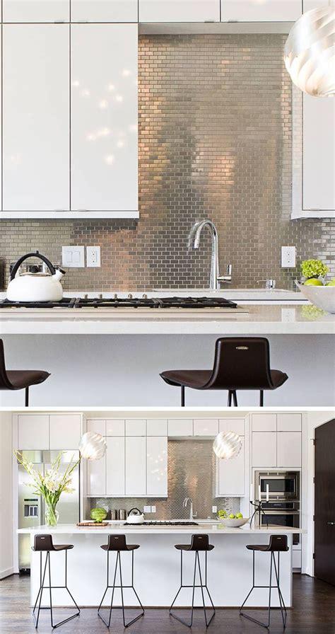 stainless steel backsplash tiles ideas   pinterest stainless steel tiles