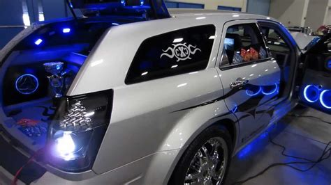 Interior Silver Paint Custom Dodge Magnum By X Caliber Customs Youtube