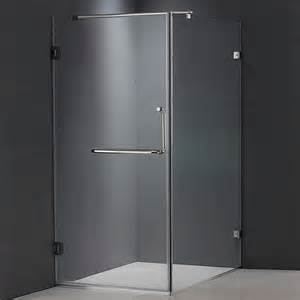Tempered Glass Shower Doors Frameless Vigo Vg6012 Frameless Tempered Glass Corner Shower