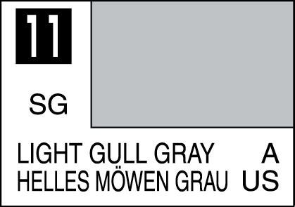 Mr Color C 11 Light Gull Gray Gundam Model Kitt Paint mr color paint light gull gray 10ml c011 gsi c 011 gunze sangyo mr hobby