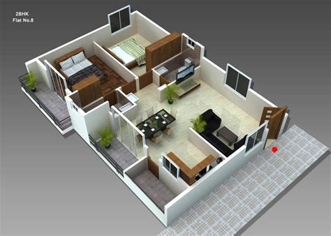 home design 3d 2 bhk dwarakamai s jupiter by dwarakamai housing projects pvt