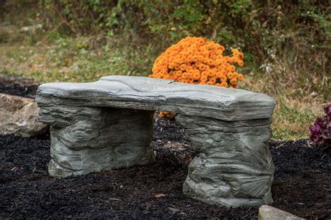 Memorial Concrete Benches by Handmade Cast Concrete Memorial Bench Cf 202