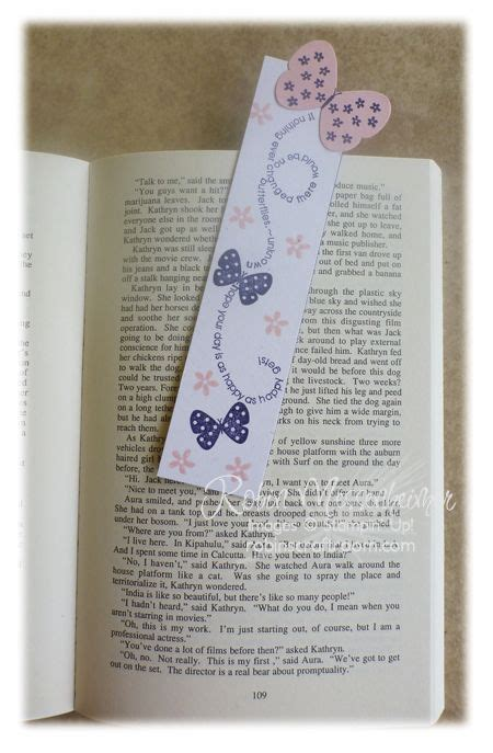 Handmade Bookmarks With Quotes - the world s catalog of ideas