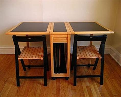 kitchen folding table and chairs home design ideas