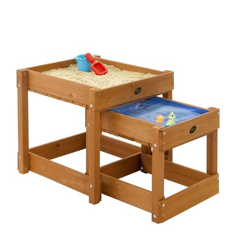 Water Sand Table plum bay wooden sand pit and water table next day